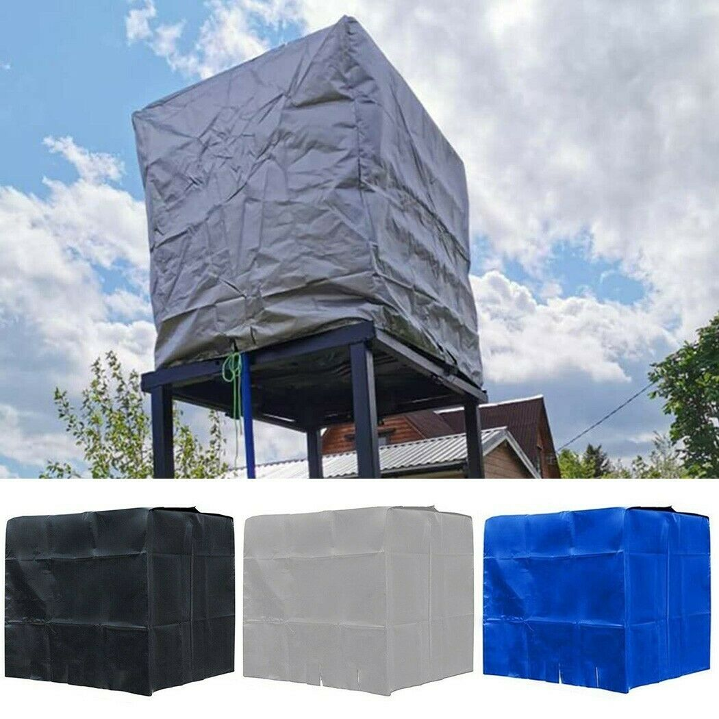 Rainwater Water Tank 600L IBC Container Foil Dust-Proof Cover Protector 210D New