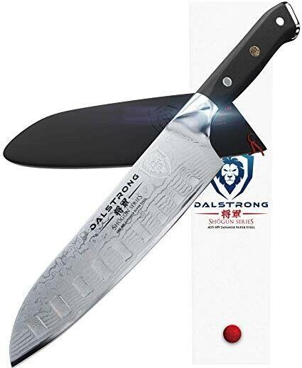 Santoku Knife Heavy Duty Dalstrong Culinary Best Kitchen Japanese Steel Ultimate