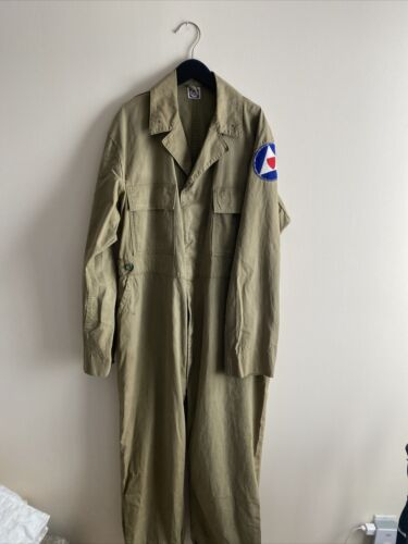 WW2 Vintage Military SWEET ORR COVERALLS with CIVI