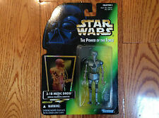 Star Wars Power Of The Force Kenner 2–1 B Medic Droid With Computer MOC M