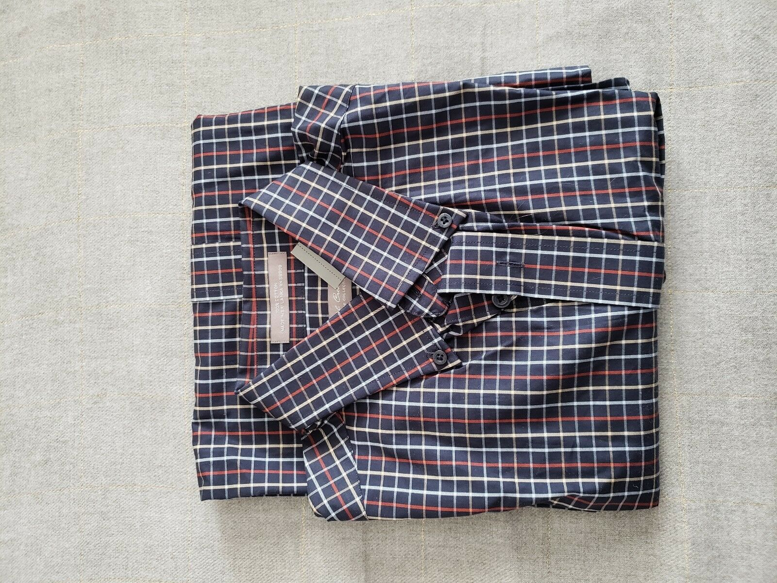 DANIEL CREMIEUX SIGNATURE COLLECTION 100% COTTON SHIRT SMALL STRIPED