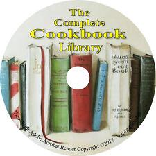 200 Vintage Books on DVD, Complete Cookbook Collection, Recipes Cook Bake
