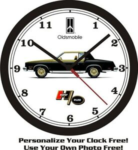 CLOCK SHIP OLDSMOBILE USA OLDS WALL Pontiac FREE HURST W30 Chevrolet 1979 xXHRw8qH