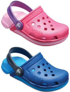 c7e74de86 Image is loading Crocs-Kids-Electro-III-Clog