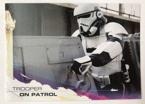 2018 Topps Solo Star Wars Story #59 Trooper on Patrol NrMint-Mint