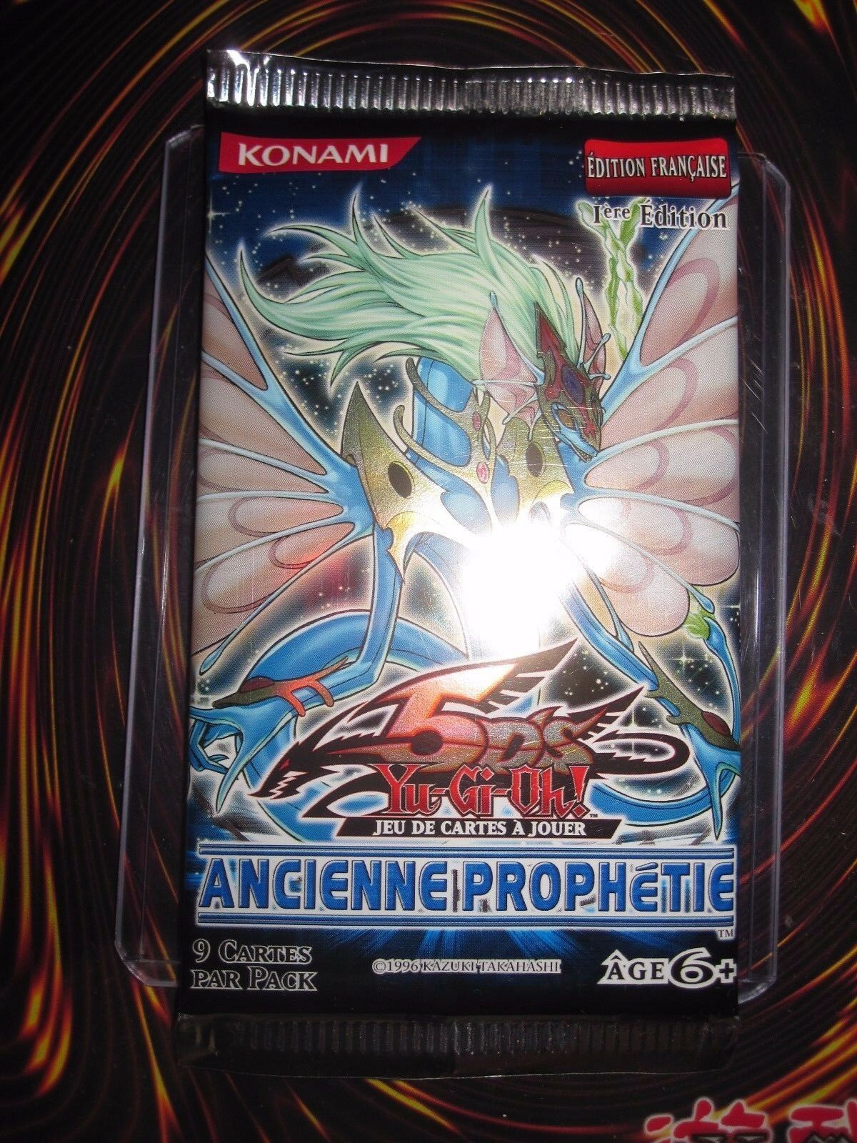 YU-GI-OH  INTROUVABLE BOOSTER 9 CARTES ANCIENNE PROPHETIE 1 ère EDITION FRANCAIS
