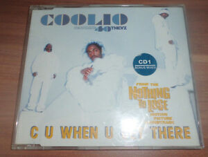 Coolio featuring 40THEVZ - C U When U Get There (Maxi CD)