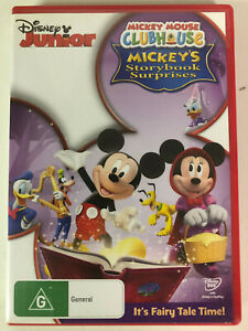 Disney-Junior-Mickey-Mouse-Clubhouse-Mickey-039-s-Story-Book-Surprises-DVD