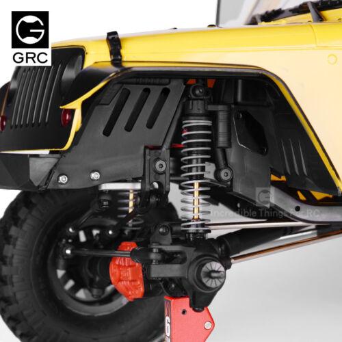 Jeep body #GAX0011PF 90046 GRC Plastic Front Fender Set For SCX10 II 90060