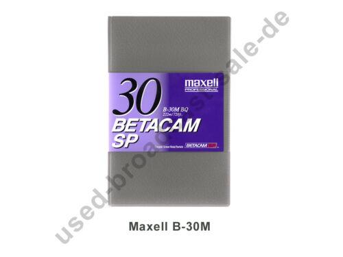 Maxell b-30m bq-Betacam SP casete