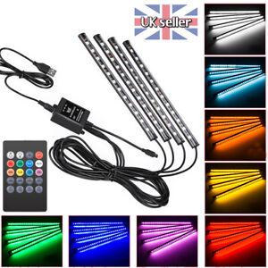 4X-5050-SMD-LED-Car-Interior-Strip-Light-RGB-Colorful-USB-Atmosphere-Lamp-Remote