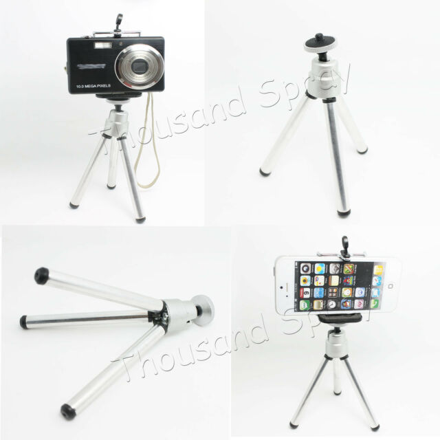 Mini 360 Rotatable Stand Tripod Mount+Phone Holder for iPhone 6 Samsung HTC CAME