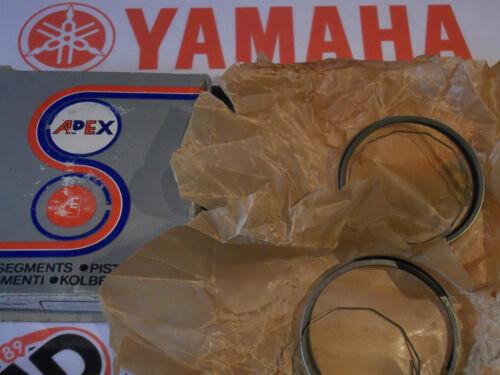 NOS 2 0.50mm YAMAHA RD200 RD200A B  PISTON RING SETS