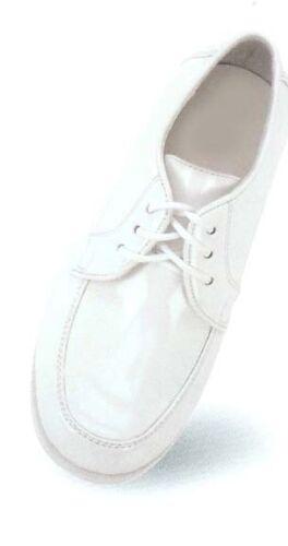 NEW Boys All White Communion Tuxedo Dress Shoes Sz 10-13 youth 5-7 width M D