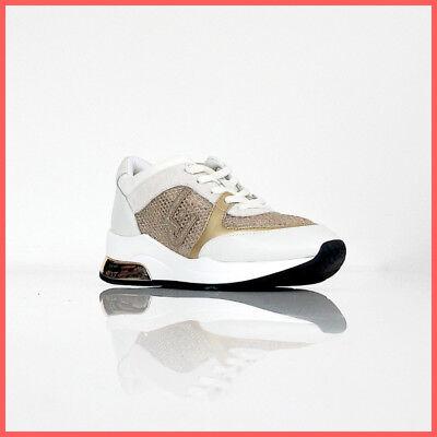 LIU JO scarpe donna SNEAKER KARLIE 12 B19007 TX032 col. BEIGEORO estate 2019 | eBay