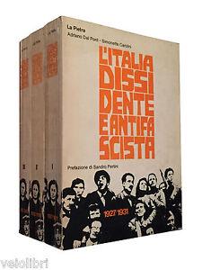 Adriano-Dal-Pont-Simonetta-Carolini-L-039-ITALIA-DISSIDENTE-E-ANTIFASCISTA-La-Pietra