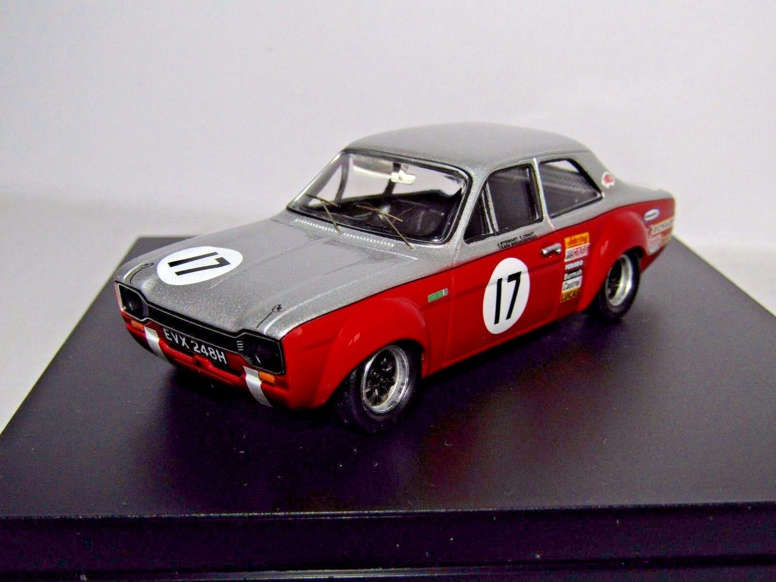 100% garantía genuina de contador Trofeu 527 Ford Escort Mk I 1600 Tc platastone 1970 1970 1970 J Stewart 1 43  tienda de venta