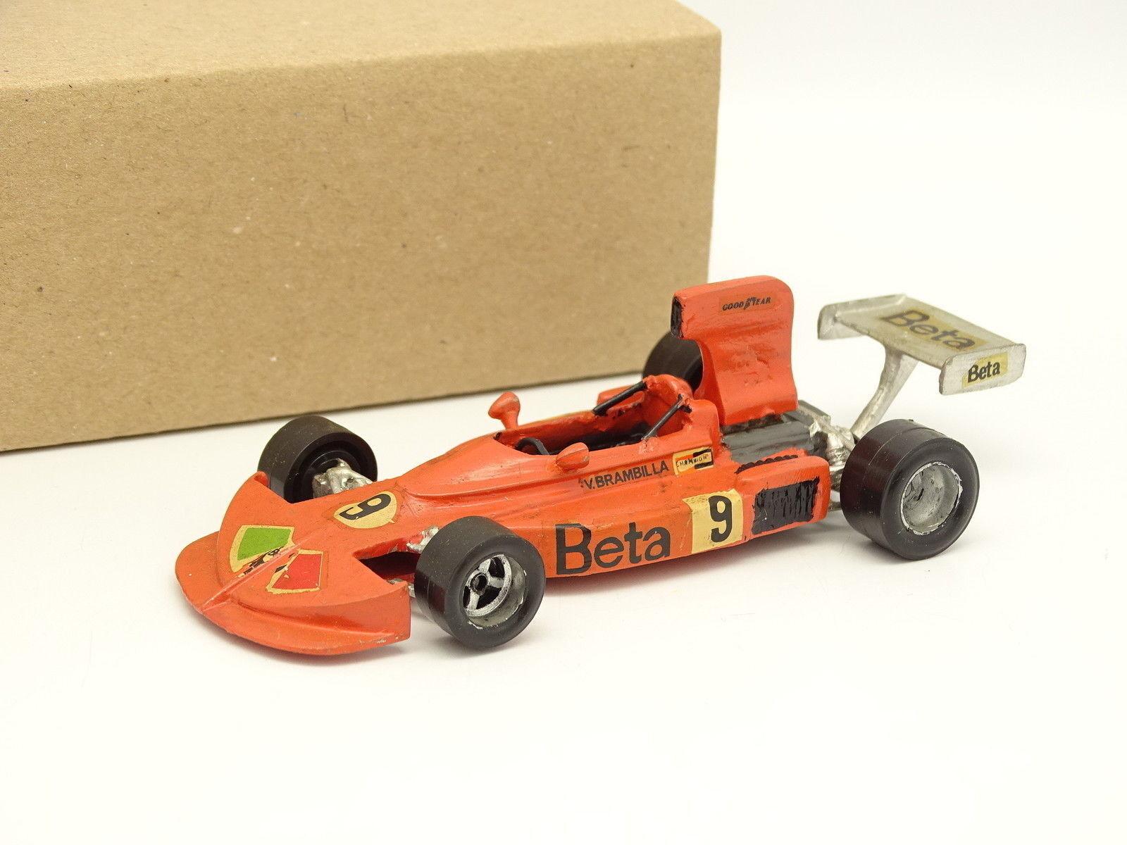 John Day Kit Metal Montado 1 43 F1 MARZO 751 Vittorio Brambilla 1975 Austrian GP
