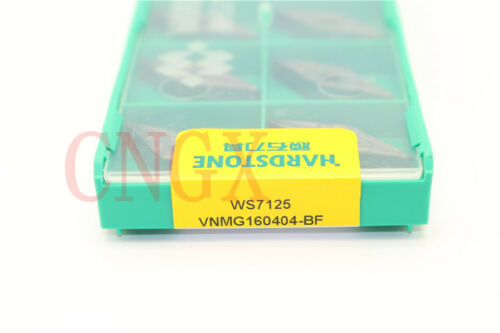 100P VNMG160404-BF VNMG331-BF WS7125 CNC Carbide inserts for Stainless steel