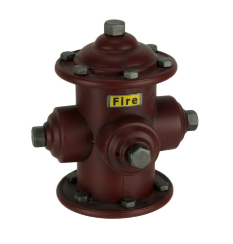Red Metal Vintage Fire Hydrant Coin Bank Money Box for Kids or Adults 9 Inch