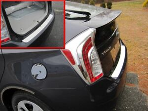 1PC-Stainless-Steel-Rear-Bumper-Trim-Accent-RB10135-For-TOYOTA-PRIUS-2010-2015