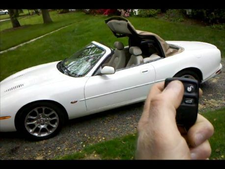 /'96/'-06 Remote Convertible Top Accessory Jaguar XK8 XKR