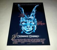 "DONNIE DARKO X3 PP SIGNED 12""X8"" A4 PHOTO POSTER JAKE GYLLENHAAL N2"