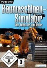 BAUMASCHINEN-SIMULATOR - PC - CD ROM - NEU & SOFORT