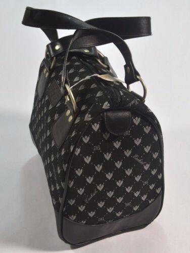 Ezekiel PREP STAR Boothill Brown Black Oyster Interior Pockets Mini Duffle Purse