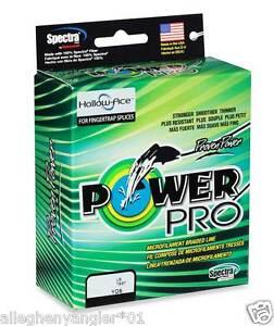 PowerPro Hollow Ace Braided Line 40lb 100yd Spool White