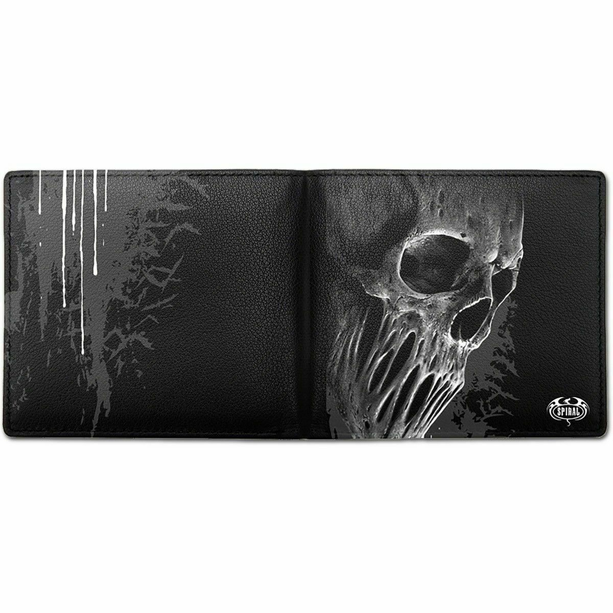 SPIRAL DIRECT BAT CURSE - BIFOLD WALLET WITH RFID BLOCKING AND GIFT BOX/Skull