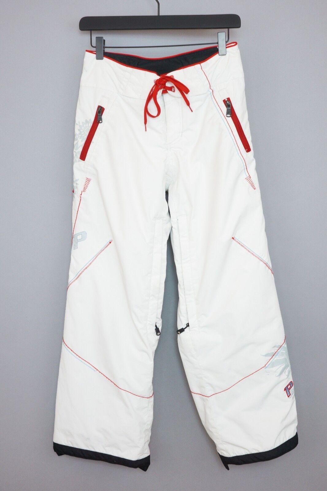 Mujer Peak Performance Pantalones Thermolite Snowboard Esquí XS W28 L29 XIJ548