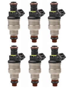 6 Flow Matched  Fuel injectors for Ford 2.3 2.9 3.0 3.8 4.9 5.0 F47E-A2E Set
