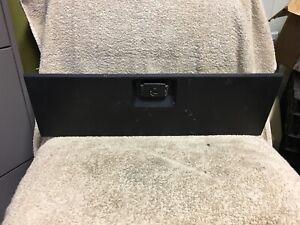 E0zb 6606015 Aa 1979 1986 Ford Mustang Black Dash Glove Box Compartment Ebay