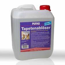 Pufas Tapetenablöser 5l Tapetenentferner Tapetenlöser Wallpaper Remover