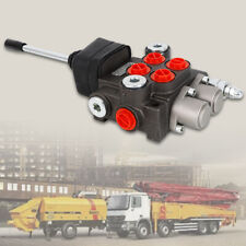 New Listing2 Spool Hydraulic Directional Control Valve 11gpm Double Acting Cylinder Spool