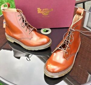 Boots Made Martens Brown Leather Arthur 39 Tan Uk Dr Brush Eu England 6 Boanil 0Z6p4Zwq
