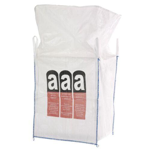 Schüttgutbehälter 5 Stück Asbest Big-Bag BigBag 90x90x110 cm 1000kg mit Schürze
