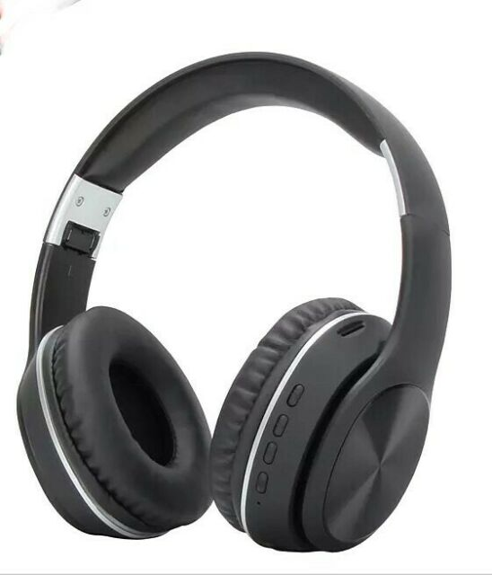 Vcom Wireless Bluetooth Over Ear Headphones, 5.0 stereo, Noise Cancelling, Black