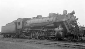NKP Nickel Plate Railroad locomotive engine No 625 OLD TRAIN PHOTO