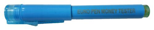 Geldscheinprüfer Stift Geldscheintester Falschgeld Tester Prüfer Stift und Lampe