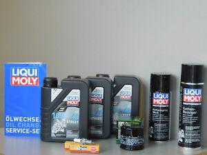 Kit-de-Maintenance-Kawasaki-W-650-Huile-Filtre-a-Huile-Bougie-Chaine-Revision