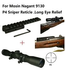 No gunsmith scout /& regular scope mount 4 Russian Mosin nagant M38 M-38 M44 M-44