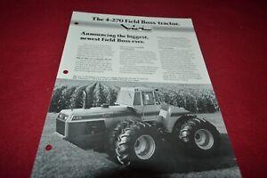 White 4-225 4-270 Tractor Dealer Brochure DCPA10
