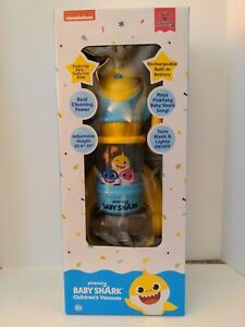 New In Box Pinkfong Baby Shark Child's Vacuum Sings The Baby Shark Song