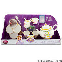 Disney Store Sofia The First Deluxe Talking Tea Party Set 12 Pieces