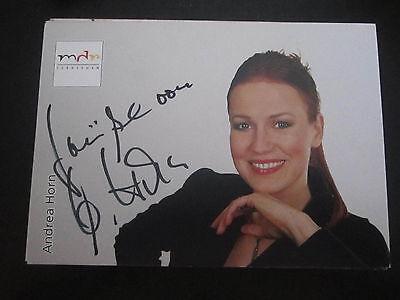 Original, Nicht Zertifiziert ZuverläSsig 10288 Andrea Horn Original Signierte Autogrammkarte Musik Tv Gutes Renommee Auf Der Ganzen Welt Autogramme & Autographen