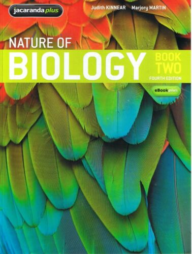 1 of 1 - NEW - Nature of Biology Book Two 2 - Judith Kinnear, Marjory Martin FREE EXPRESS