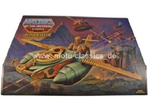 Windraider wind raider motu mattel masters of the universe classics he man had