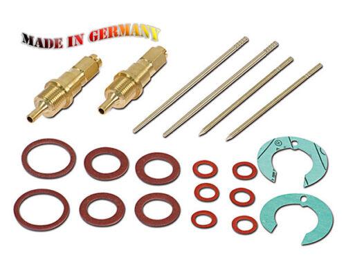 Rundschieber Reparatursatz für 2 Vergaser BK350 MOTORRAD MADE IN GERMANY TOP